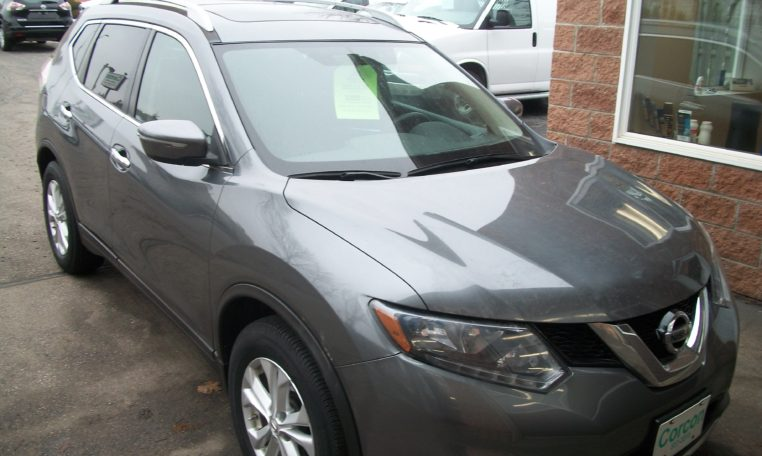 2015 Nissan Rogue Sv Sunroof Corcon Autosales
